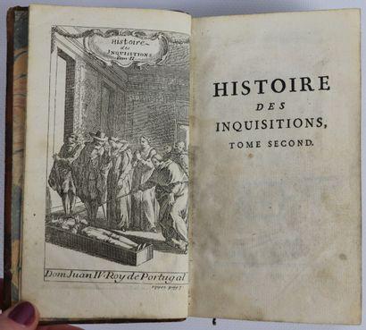 HISTOIRE des Inquisitions. Cologne, Marteau,...