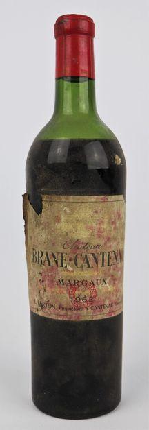 CHATEAU BRANE CANTENAC.  Millésime : 1962....