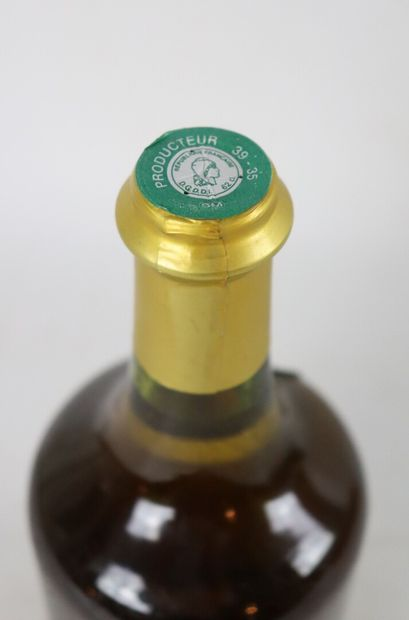 CHATEAU CHALON  Fruitière de Voiteur.  Millésime : 1989.  1 bouteille