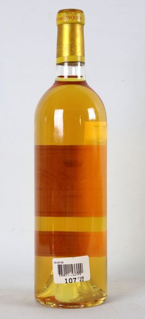 CHATEAU YQUEM.  Millésime : 1999.  1 bouteille