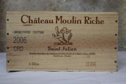 CHATEAU MOULIN RICHE.  Millésime : 2006....
