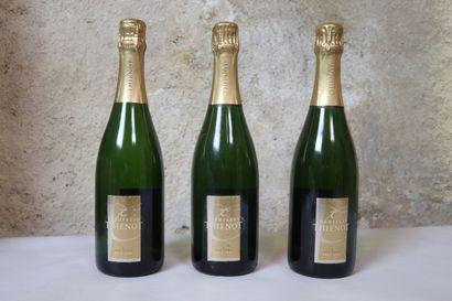CHAMPAGNE THIENOT BRUT.  Millésime : 2004.  3 bouteilles
