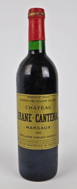 CHATEAU BRANE CANTENAC.  Millésime : 1989....