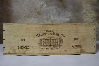 CHATEAU MAUVESIN BARTON.  Millésime : 2011....