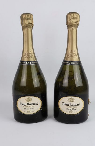 CHAMPAGNE DOM RUINART.  Millésime : 2002....