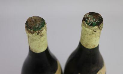 MONTLOUIS LES BATISSES.  Deletang.  Millésime : 1991.  2 bouteilles, e.l.s., traces...