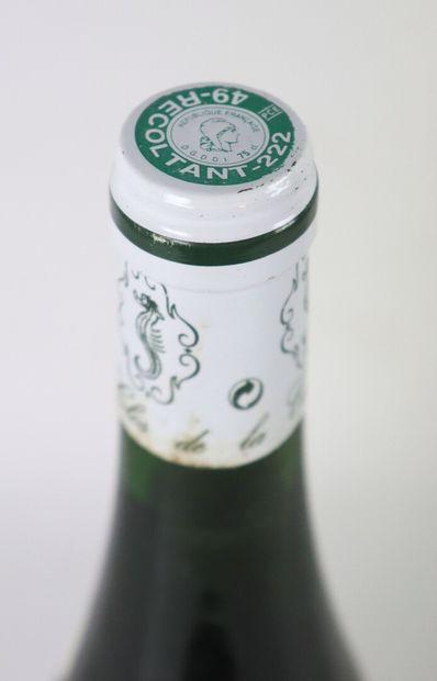 COULEE DE SERRANT.  Nicolas Joly.  Millésime : 1999.  1 bouteille