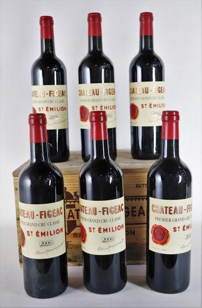 CHATEAU FIGEAC.  Millésime : 2006.  6 bouteilles,...