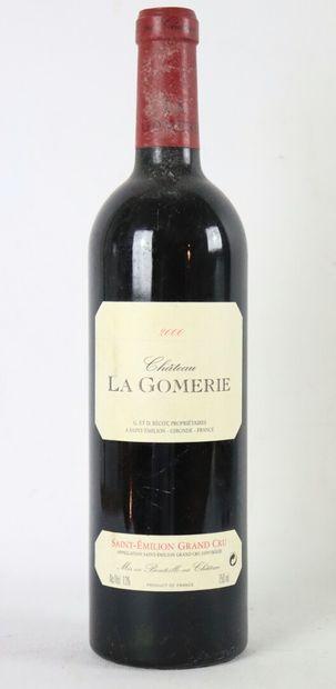 CHATEAU LA GOMERIE.  Millésime : 2000.  1...