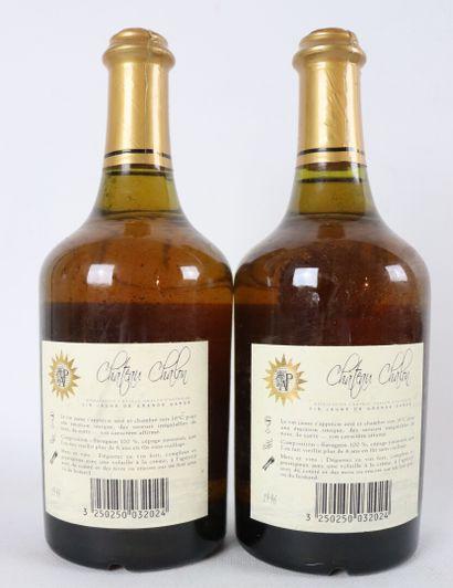 CHATEAU CHALON  Auguste Pirou.  Millésime : 1996.  2 bouteilles