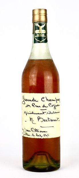 COGNAC GRANDE CHAMPAGNE.  Berticourt.  1...