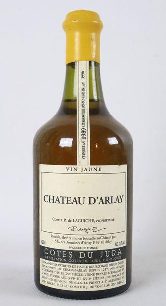 CHATEAU D'ARLAY.  VIN JAUNE.  Millésime : 1989.  1 bouteille