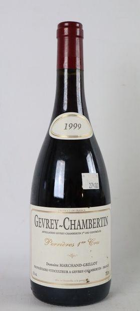 GEVREY CHAMBERTIN PERRIERES 1ER CRU.  Marchand-Grillot....