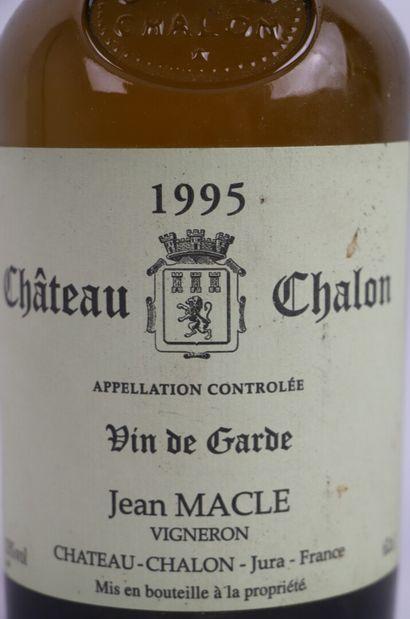 CHATEAU CHALON.  Jean Macle.  Millésime : 1995.  2 bouteilles