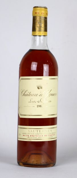 CHATEAU YQUEM.  Millésime : 1982.  1 bouteille,...