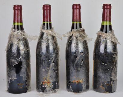 CHAPELLE CHAMBERTIN, Paul Pidault.  Millésime : 1988.  4 bouteilles, e.t.a.