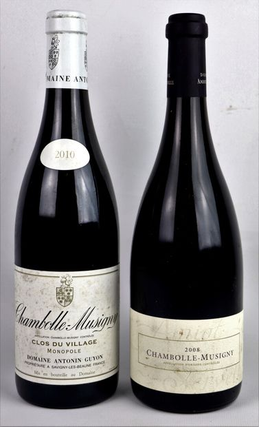CHAMBOLLE-MUSIGNY.  Domaine Amiot-Servelle....