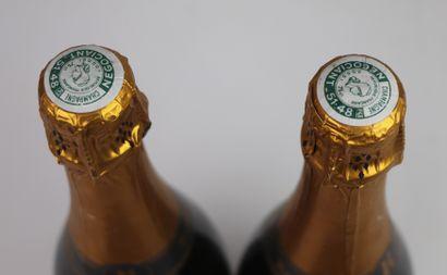 CHAMPAGNE RUINART, BRUT R.  2 bouteilles