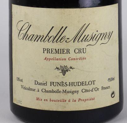 CHAMBOLLE MUSIGNY 1er CRU.  Daniel Funès-Hudelot.  Millésime : 1994.  1 magnum,...