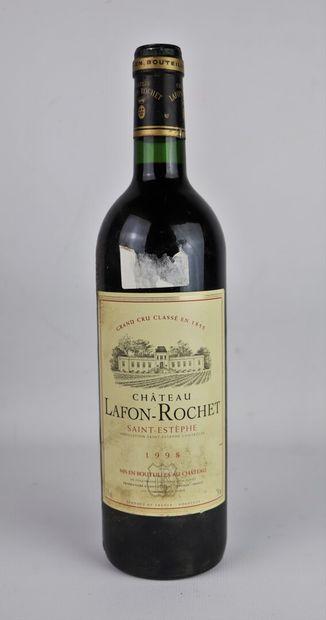 CHATEAU LAFON ROCHET.  Millésime : 1998....