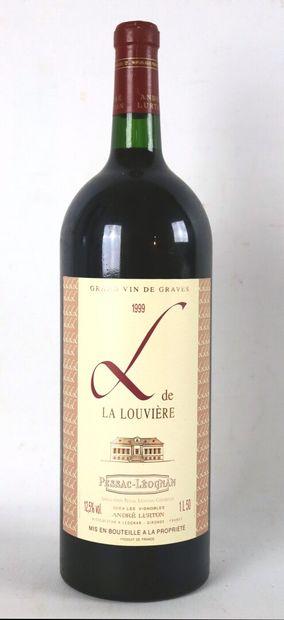 L DE LA LOUVIERE.  Millésime : 1999.  1 ...