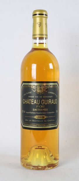 CHATEAU GUIRAUD.  Millésime : 2001.  1 bouteille