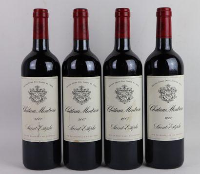 CHATEAU MONTROSE.  Millésime : 2007.  4 bouteilles,...