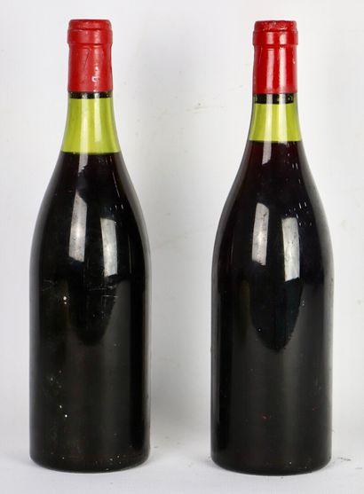 HOSPICES DE BEAUNE MONTHELIE.  CUVEE LEBELIN.  Millésime : 1986.  2 bouteilles,...