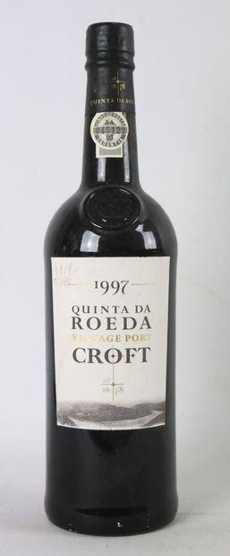 QUINTA DA ROEDA.  Vintage port croft.  Millésime...