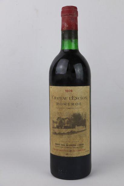 CHATEAU L'ENCLOS.  Millésime : 1978.  1 bouteille,...