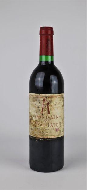CHATEAU LATOUR.  Millésime : 1979.  1 bouteille,...