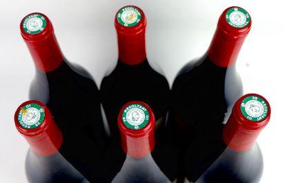 ARBOIS LES BERANGERES.  Trousseau.  Millésime : 2013.  6 bouteilles