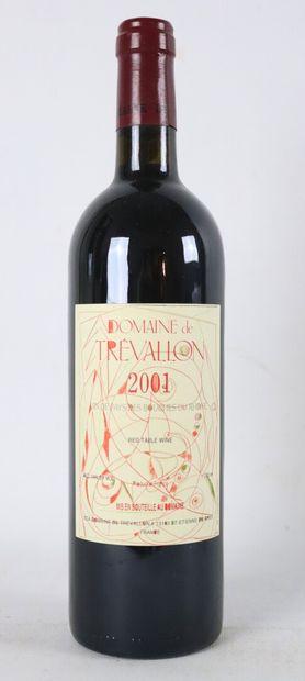 DOMAINE DE TREVALLON.  Millésime : 2001....
