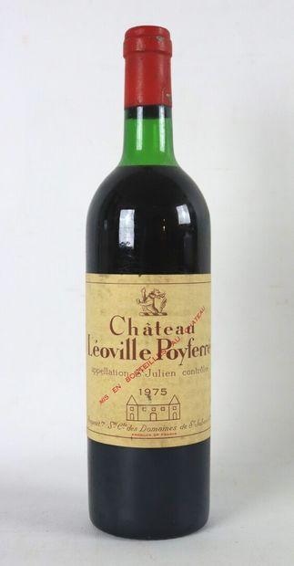 CHATEAU LEOVILLE POYFERRE.  Millésime : 1975....