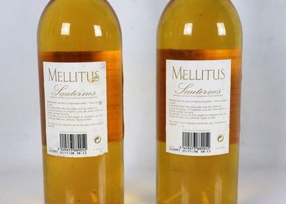 CHATEAU MELLITUS.  Millésime : 2005  2 bouteilles