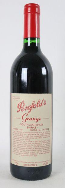 PENFOLD'S.  Grange Shiraz.  Millésime : 1999....
