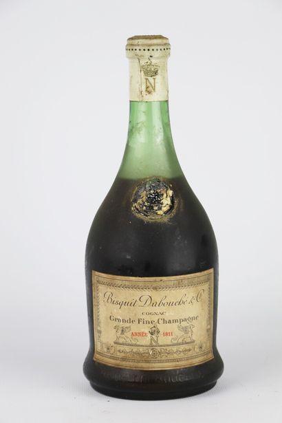 COGNAC BISQUIT DUBOUCHE.  Grande fine Champagne....