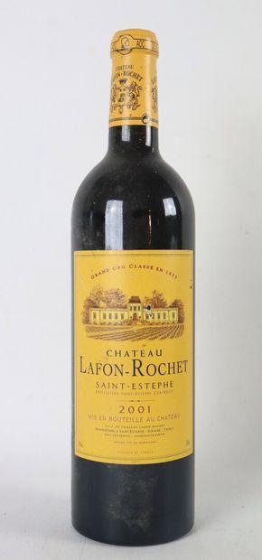 CHATEAU LAFON-ROCHET.  Millésime : 2001....