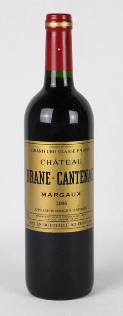 CHATEAU BRANE-CANTENAC.  Millésime: 2006....