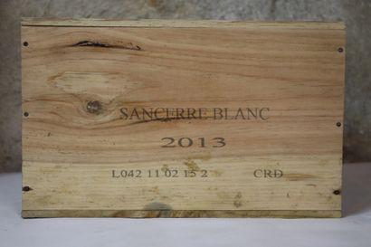 SANCERRE JADIS HENRI BOURGEOIS.  Millésime : 2013.  6 bouteilles, CBO
