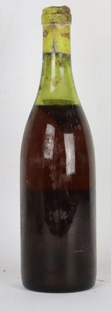 CHATEAU RAYAS blanc.  Millésime : 1973.  1 bouteille, e.
