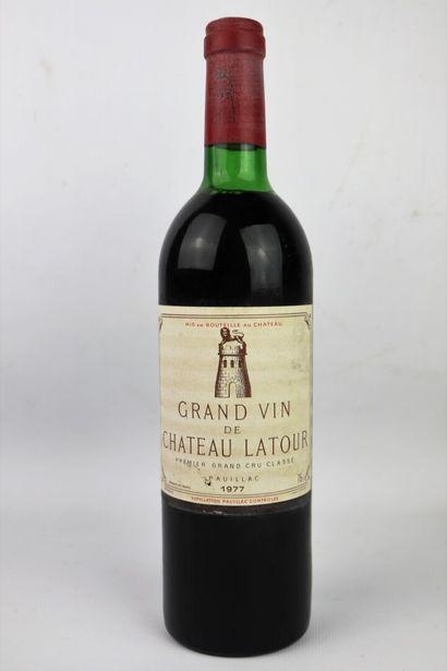 CHATEAU LATOUR.  Millésime : 1977.  1 bouteille,...
