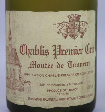 CHABLIS 1er CRU MONTEE DE TONNERRE.  Raveneau.  Millésime : 1989.  1 bouteille,...