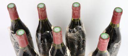 POMMARD 1ER CRU LES CHARMOTS.  PARIGOT.  Millésime : 1989.  7 bouteilles, e.t.a,...