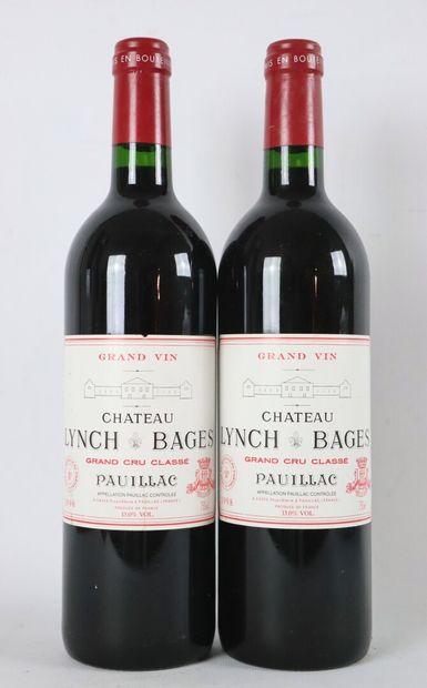 CHATEAU LYNCH-BAGES.  Millésime : 1998.  2...