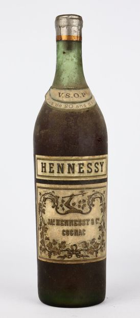COGNAC VSOP HENNESSY.  1 bouteille