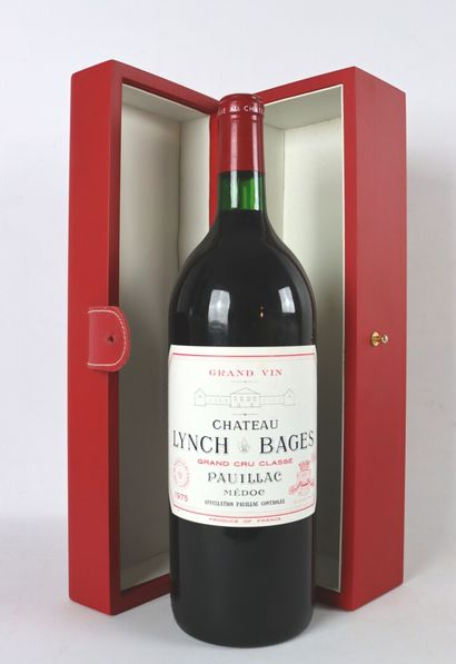 CHATEAU LYNCH BAGES.  Millésime : 1975.  1...