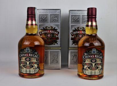 CHIVAS REGAL BLENDED SCOTCH WHISKY, 12 ans...