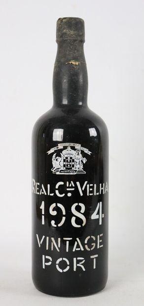 REAL Cia VELHA.  1984 vintage port.  1 b...