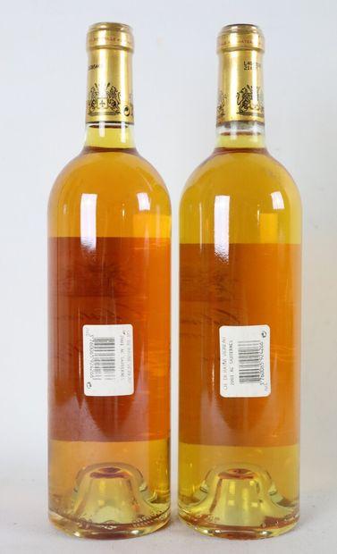 CHATEAU DE RAYNE-VIGNEAU.  Millésime : 2001.  2 bouteilles